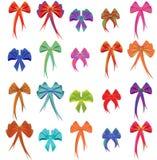 Twintig kleurenbogen Stock Afbeeldingen