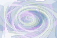 Twirl κρητιδογραφιών ανασκόπηση διανυσματική απεικόνιση