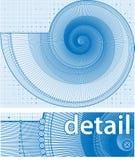 twirl σχεδίων ανασκόπησης ελεύθερη απεικόνιση δικαιώματος