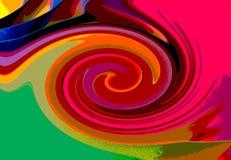 Twirl υπόβαθρο επίδρασης Στοκ Εικόνες
