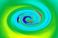 twirl радуги Стоковые Фото
