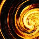 Twirl яркой вспышки взрыва на черных предпосылках взрыв огня стоковая фотография