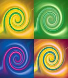Twirl x 4 Fotos de Stock Royalty Free