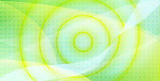 Twirl background. Yellow and green twirl background Stock Photos