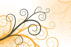 Twirl Background. An illustration of a background with twirls Royalty Free Stock Images