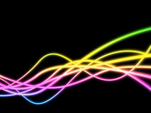 Twirl Background Represents Neon Sign And Artistic Stock Photos