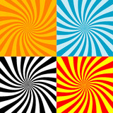 Twirl burst background collections (vector). Twirl burst background collections for design element vector illustration