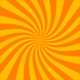 Twirl burst (vector file included) royalty free illustration