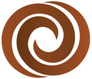 Twirl Chocholate Royalty Free Stock Image