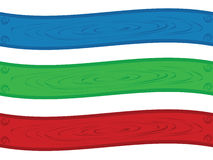 Twirl da bandeira Fotos de Stock Royalty Free