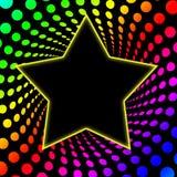 Twirl de Rainbo da estrela mundial dos anos 70 Imagem de Stock Royalty Free