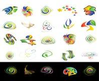Twirl design royalty free illustration
