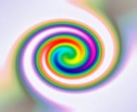 Twirl do espectro do arco-íris Fotografia de Stock