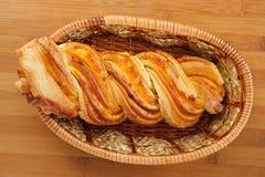 Twirl do pão fotografia de stock