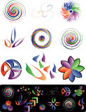 Twirl logo. Vector elements for your design Stock Image