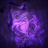 Twirl luminous light putple abstract background. Vector background Royalty Free Stock Photos