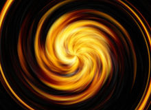 Twirl motion of bright explosion flash on black backgrounds Stock Photo