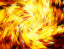 Twirl motion of bright explosion flash on black backgrounds. Motion blur effect Royalty Free Stock Photo