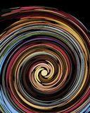 Twirl pattern Royalty Free Stock Image