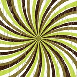 Twirl in retro colors Stock Images