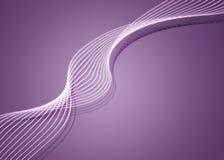 Twirl roxo Fotografia de Stock