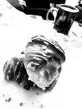 Twirl St Martin Художнический взгляд в черно-белом стоковая фотография