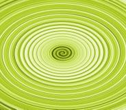 Twirl verde Fotos de Stock Royalty Free