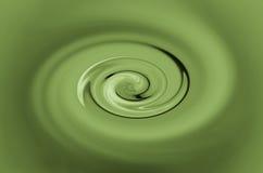 Twirl verde ilustração royalty free