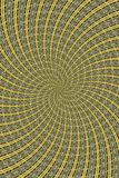 Twirled Abstract. A computer generated background abstract in a twirling pattern Royalty Free Stock Photo