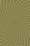 twirled abstrakt begrepp Royaltyfri Foto