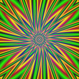 Twirled psychedelic background vector illustration
