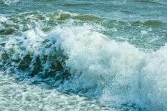 The twirled sea wave Stock Images