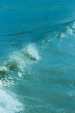 The twirled sea wave Stock Photography
