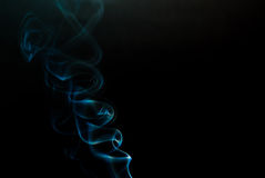 Twirling  Blue Illusion Royalty Free Stock Images