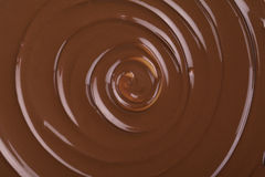 Twirling chocolate Royalty Free Stock Photography