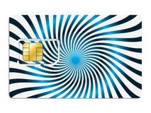 Twirling sim card Stock Images