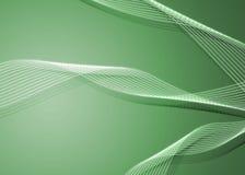 Twirls verdes Imagem de Stock Royalty Free