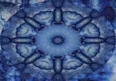 Twirly bleu photographie stock libre de droits