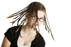 Twirly Braids Stock Images