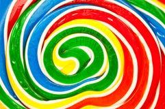 twirly tła abstrakcjonistyczny lollypop Obrazy Royalty Free