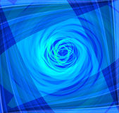 Twist Abstract blue background Royalty Free Stock Photos