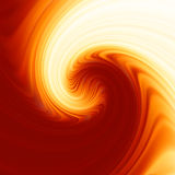 Twist background with golden flow. EPS 8 Stock Photo