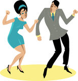 The Twist Party royalty free illustration