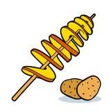 Twist potato Stock Images