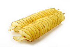 Twist potato Royalty Free Stock Photo