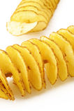 Twist potato Royalty Free Stock Images