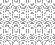 Twist rounds seamless pattern Royalty Free Stock Images