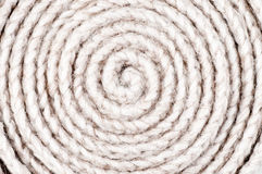 Twisted binder med rep bakgrund Royaltyfri Fotografi