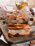 Twisted bread Royalty Free Stock Photo
