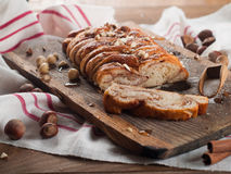 Twisted bread Royalty Free Stock Photos